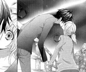 couple, kiss, and manga image