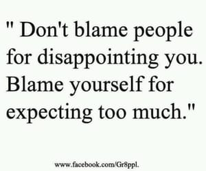 quotes, blame, and life image