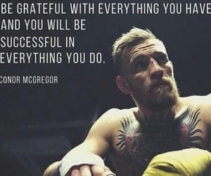quote and conor mcgregor image