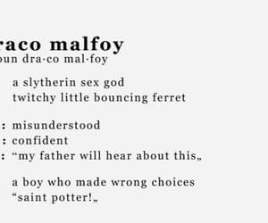books, draco malfoy, and films image