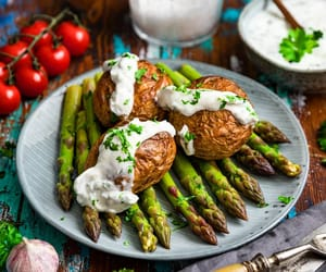 asparagus, bake, and beautiful image