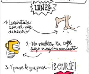 cafe, frases español, and positivo image