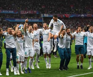 nacho, real madrid, and champions league image