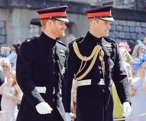 royal wedding, harry, and william image