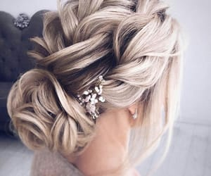 beauty, hairstyle, and blondehair image