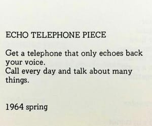 text, words, and spring 1964 image