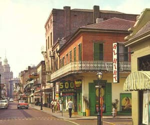 city, new orleans, and old image