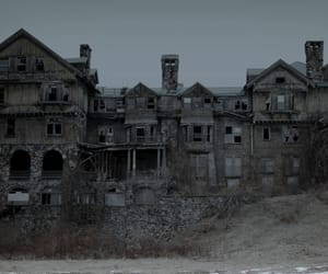 house, abandoned, and old image