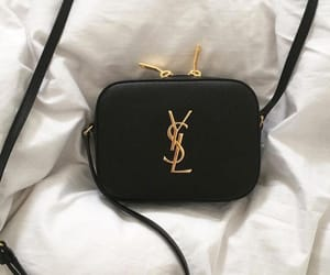 bags, fashion, and YSL image