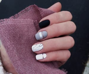 beauty, manicure, and nails image