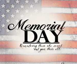 american flag, gif, and memorial day image