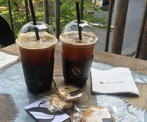 drinks, tea, and tropical image