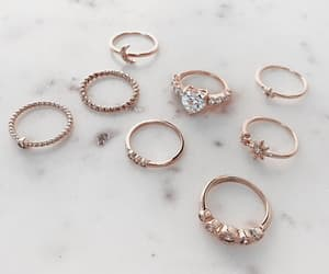 fashion, rings, and stargaze jewelry image
