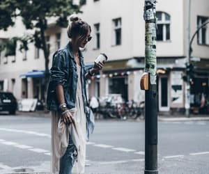 fashion, street style, and jacket jeans image