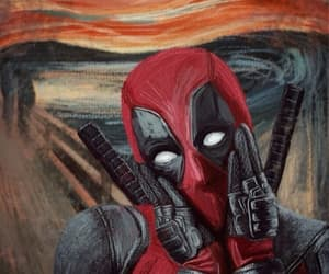 deadpool, Marvel, and art image