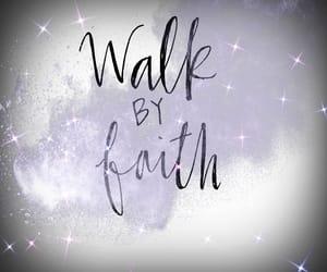 faith, glory, and jesus image