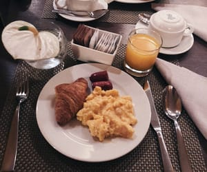 breakfast, good morning, and hotel image