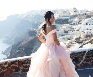 dress, Greece, and model image
