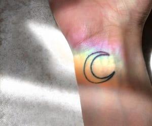 tattoo, fashion, and moon image