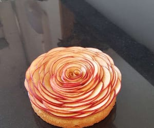 apple, food, and cake image
