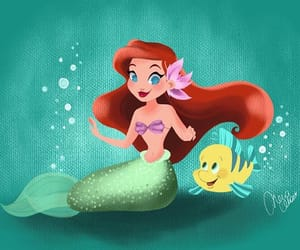 ariel, art, and creativity image