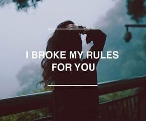 quotes, broke, and rules image