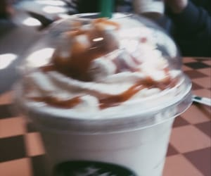 caramel, frappuccino, and tumblr image