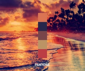 beach, pantone, and calm image