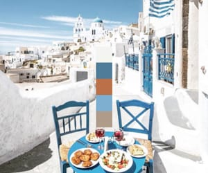 Greece, blue, and mediterranean image