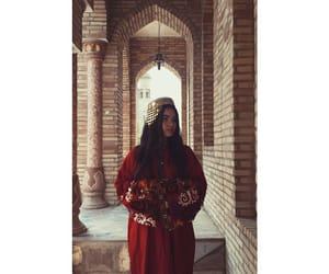 afghan, middle eastern, and caftan image