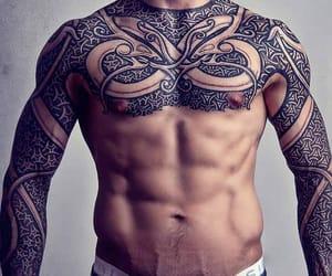 man, moda, and tatuaje image