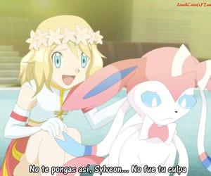 pokemon, serena, and sylveon image