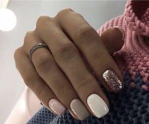 nails, nails design, and nails decoration image