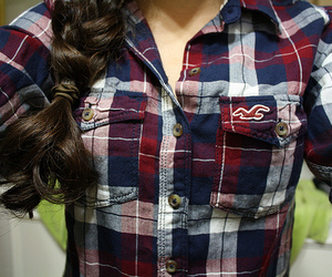 hollister, braid, and photography image