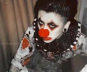 alternative, boy, and clown image