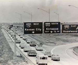 1972, Missouri, and roads image
