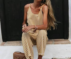 fashion, style, and jumpsuit image