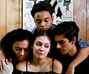 crying, on my block, and cesar diaz image