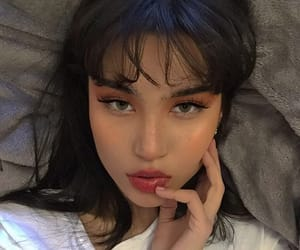 asian, eyebrows, and girls image