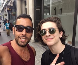 london and timothee chalamet image