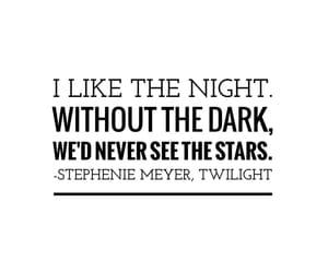 dark, quote, and shine image