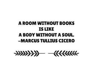 books, empty, and quote image