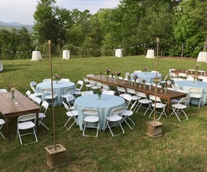 twinkle lights, rehearsal dinner, and al fresco dining image