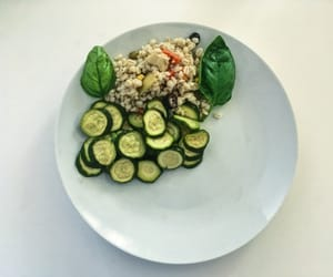 healthy, lunch, and meals image