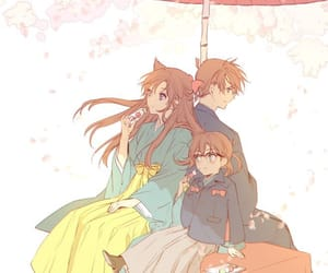 anime, conan, and couple image