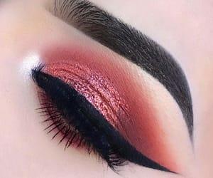 beauty, cosmetic, and eye makeup image
