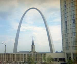 1971, memorial, and arch image