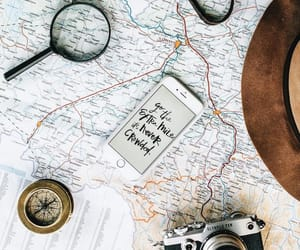 map, travel, and camera image