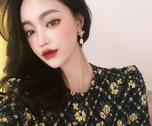 aesthetic, korean girl, and smile image