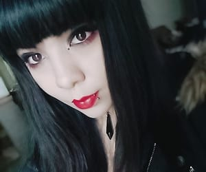 alternative, beauty, and goth image
